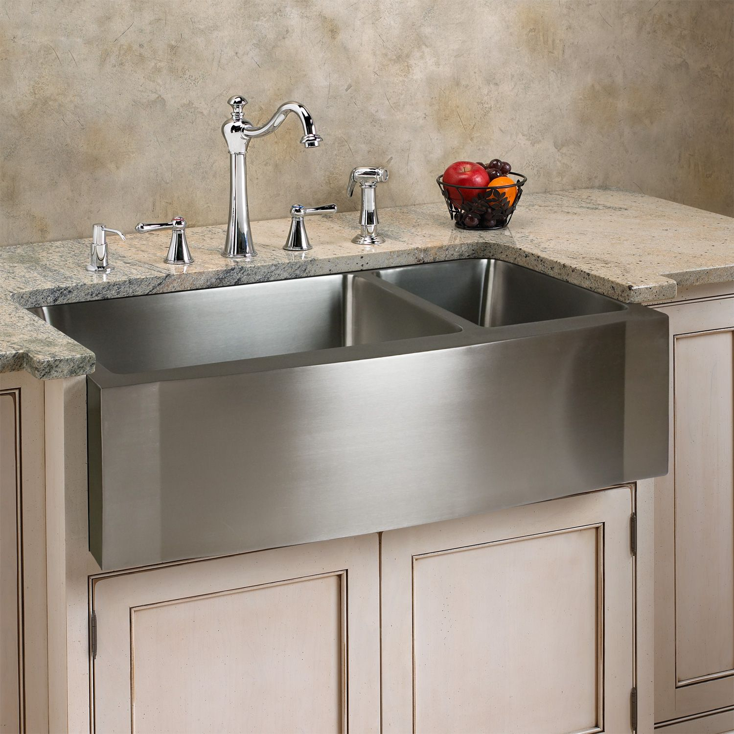 """33"""" Optimum Stainless Steel 70/30 Offset Double Well Wave"""