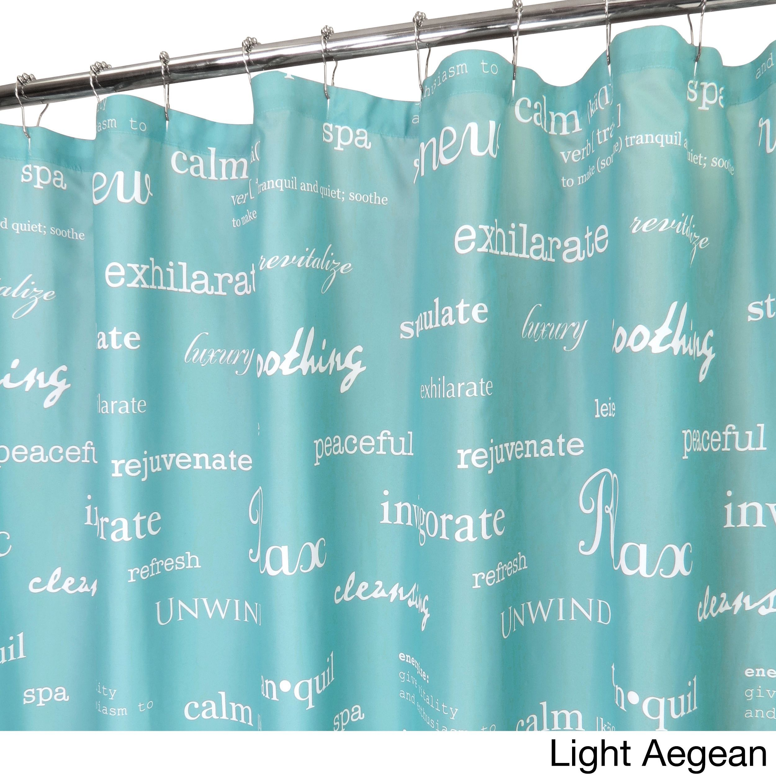 Park B Smith Spa Watershed Shower Curtain