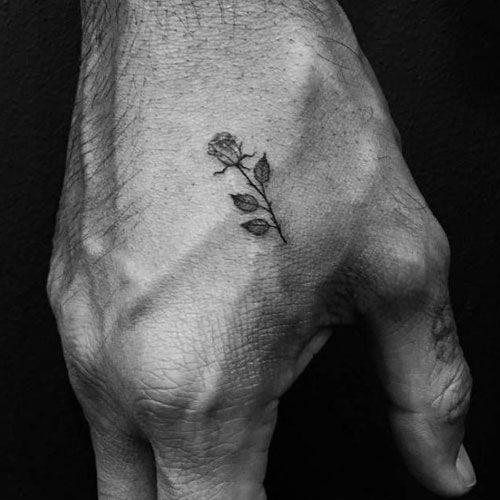 Photo of 51 rose tattoos for men 2019