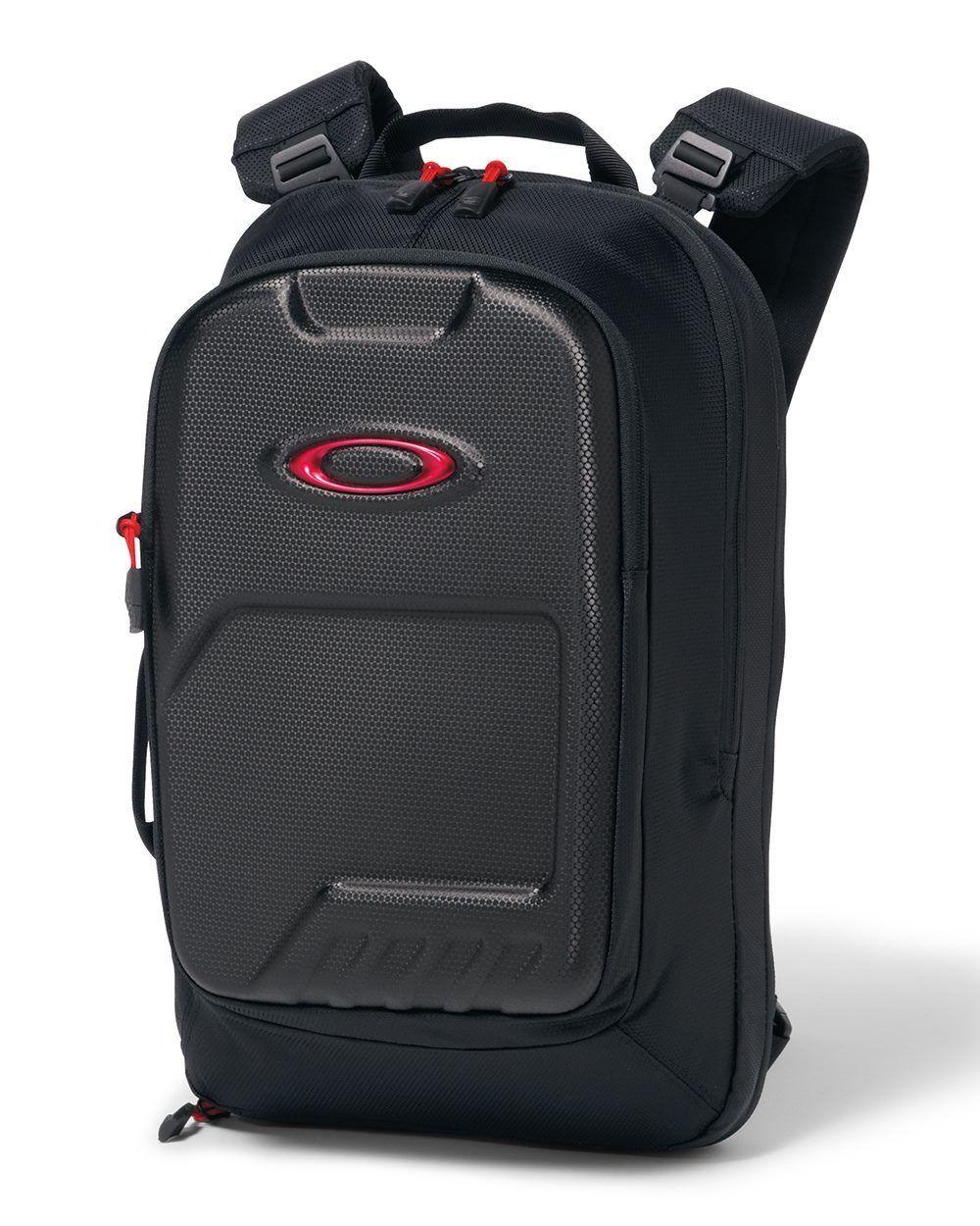 d74e92be03 Oakley Motion Tech 15L Backpack Carry On Laptop Gym Bag Sack Black 92656