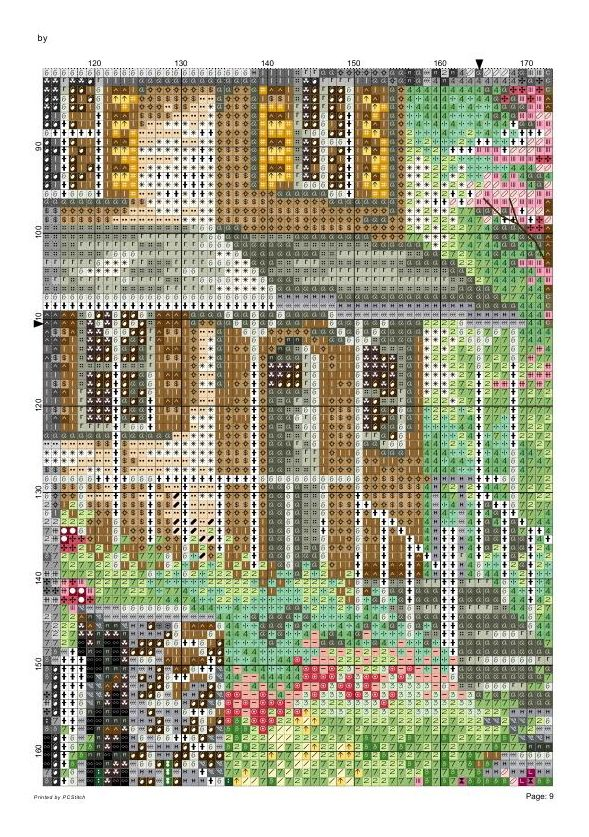 Spring comes (Dome) 10/20 | haft - pejzaże, krajobrazy | Pinterest ...