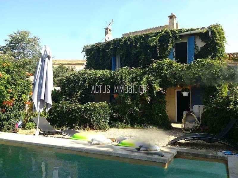 A vendre maison en pierre r nov e avec piscine lancon de provence 13680 vente et achat - Terrain a vendre salon de provence ...