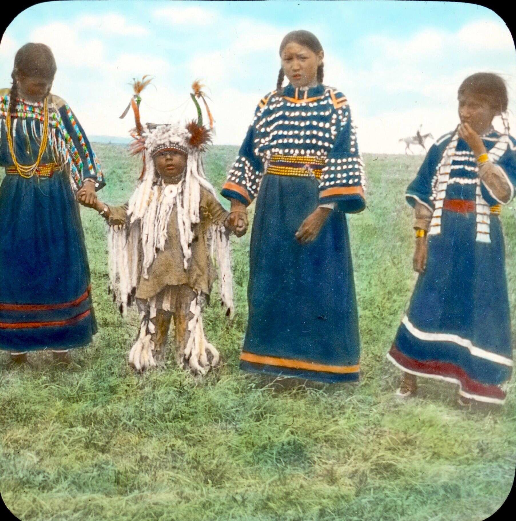 Blackfeet Children Early S