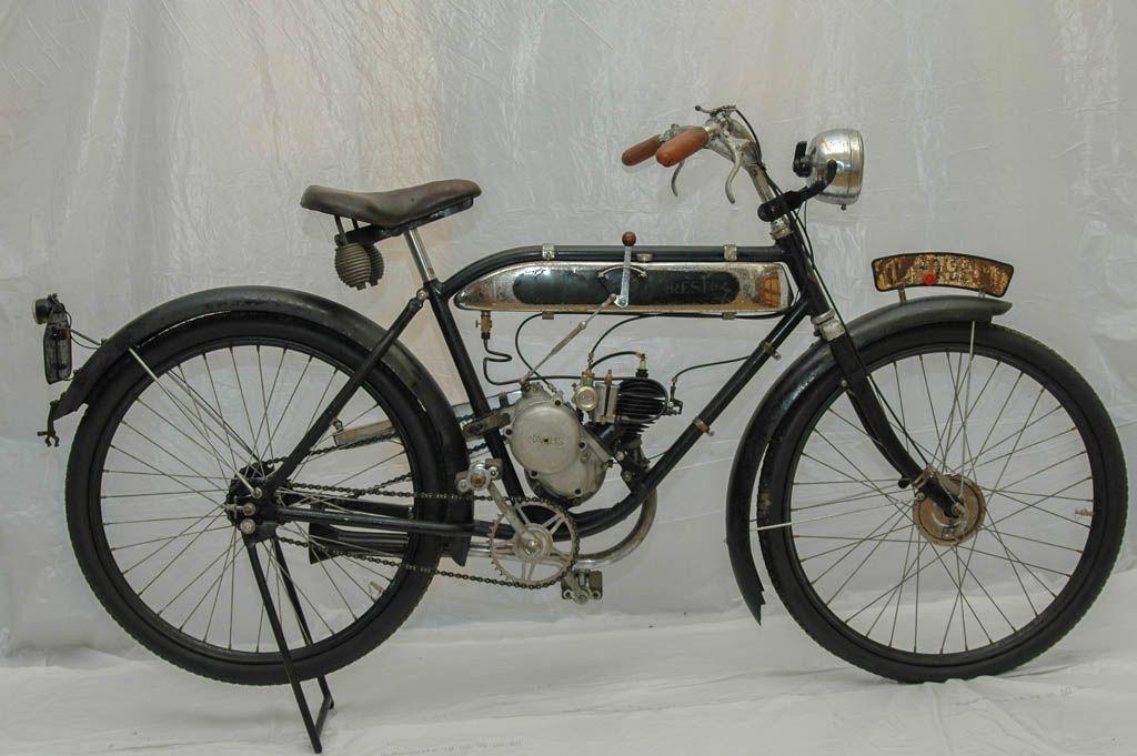 Presto 204 Oldtimerdienst Chemnitz Oldtimer Motorfahrrad Fahrrad
