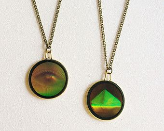 Hologram necklaces schmuckstcke pinterest 90s kids and hologram necklaces mozeypictures Image collections