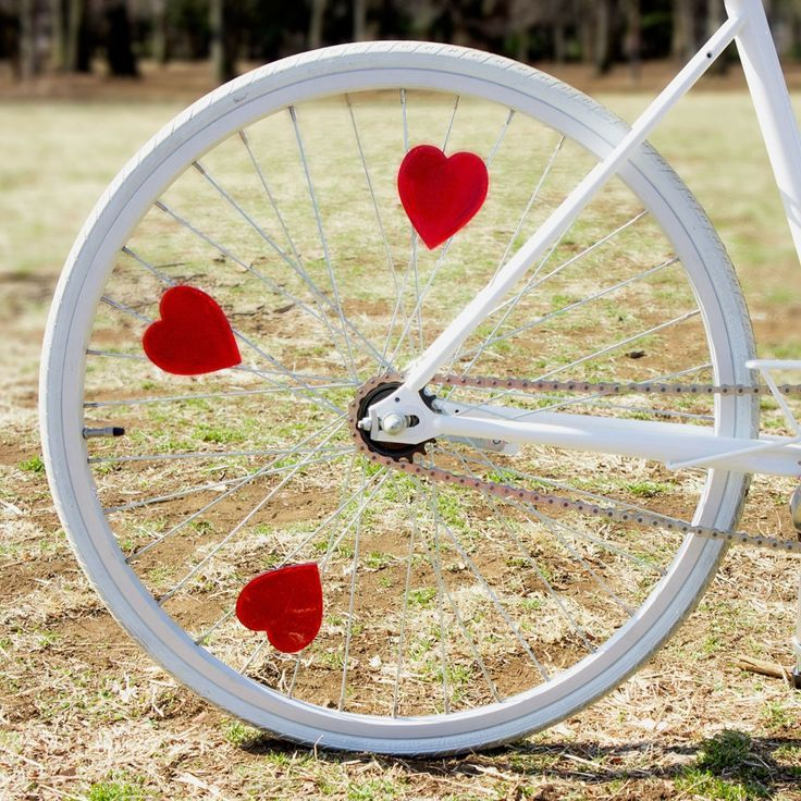 Hearts Bike Life Bicycle Cycling Accessories