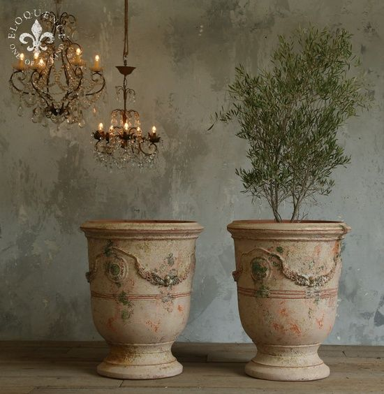 French Garden Urn Shabby French Vintage Chic Garden Urns French Garden Urns Garden Urns Beautiful Gardens