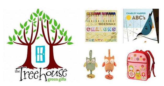 #Giveaway - $100 The Treehouse Green Gifts gift certificate - Jenn's Blah Blah Blog - Travel, Recipes, Reviews, Giveaways and Sweepstakes