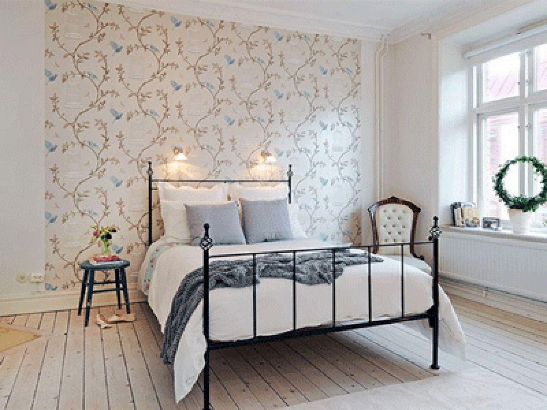 Best Modern Bedroom Decorating Ideas Romantic Wallpaper Birds 400 x 300