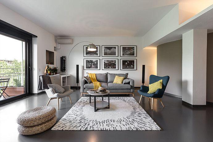 Un duplex pour séjourner en ville Moderne