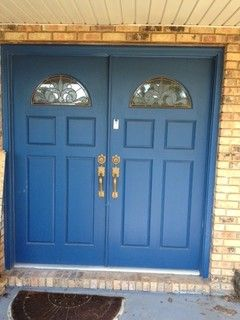 tropical painted front doors | Help with Front Door Paint Color ...