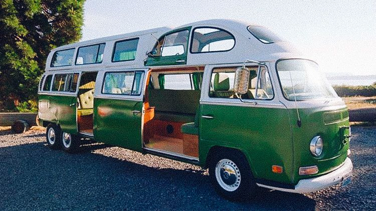 Here are the 11 sexiest customized VW camper vans