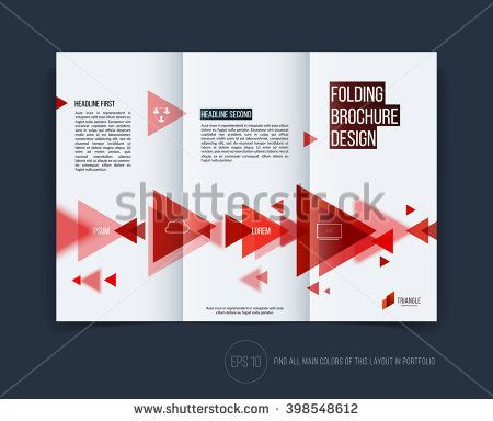 Vector Abstract Brochure Flyer Design Business Cover Template