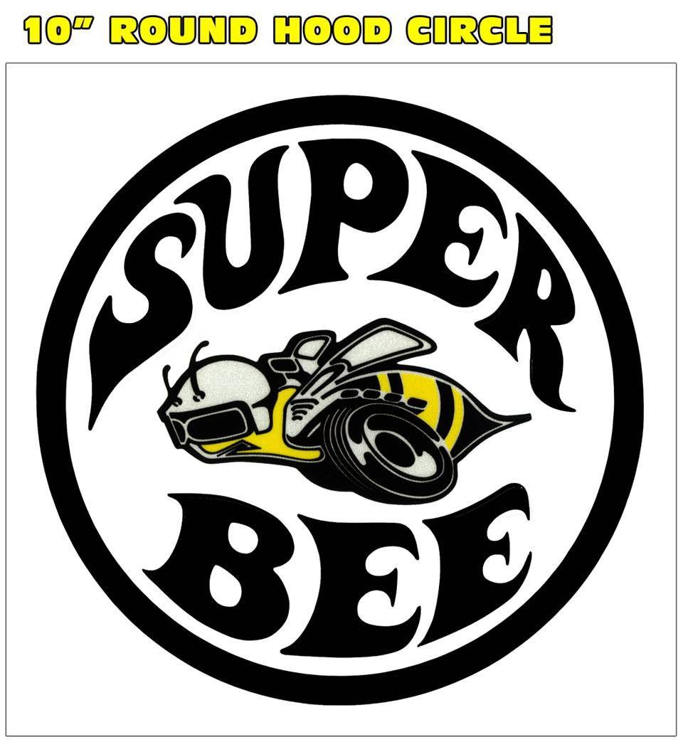 "Super Bee car styling emblem vynil car sticker  6/"""