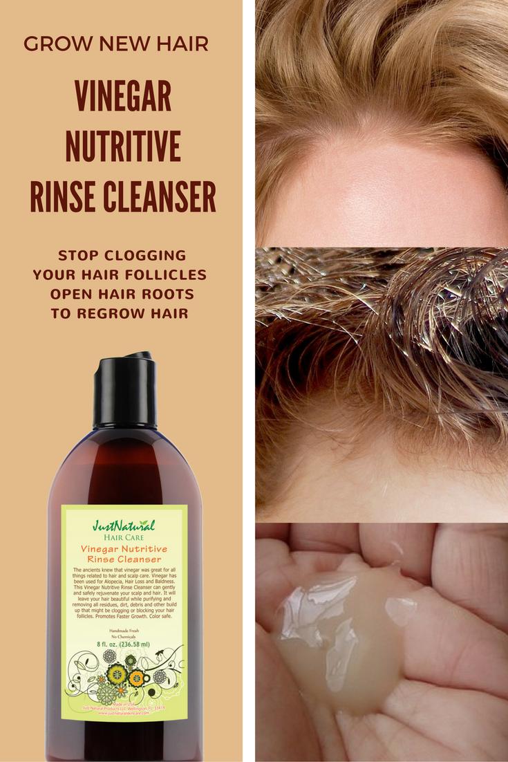 Vinegar Nutritive Rinse Cleanser Thin Hair Grow New Hair Just Nutritive Vinegar Nutritive Rinse Cleanser Shampoo Hair Fall Grow Hair Back