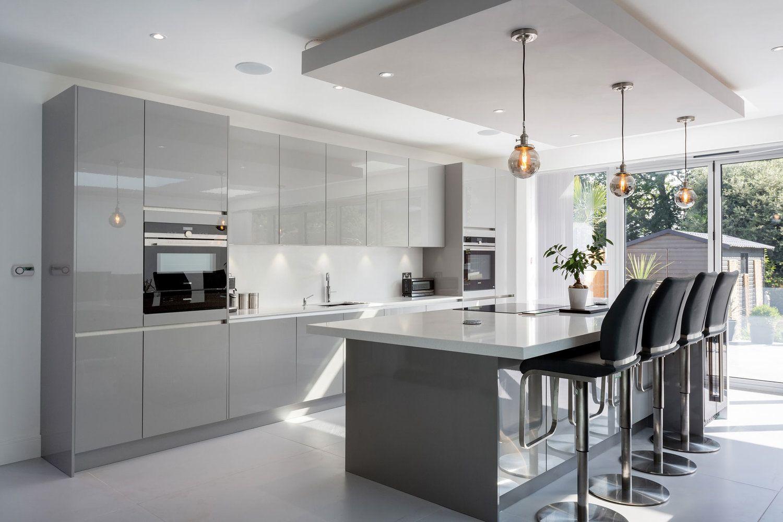 Contemporary kitchen design   Kitchen designs layout, Open ...