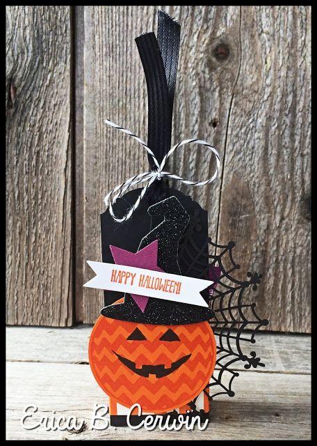 Sparkly Season Halloween Treat Holder by Erica Cerwin