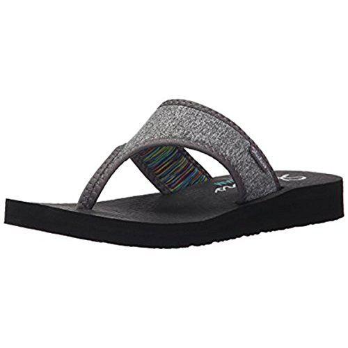 Skechers Cali Women's Meditation Zen Child Flip Flop, Grey, ...
