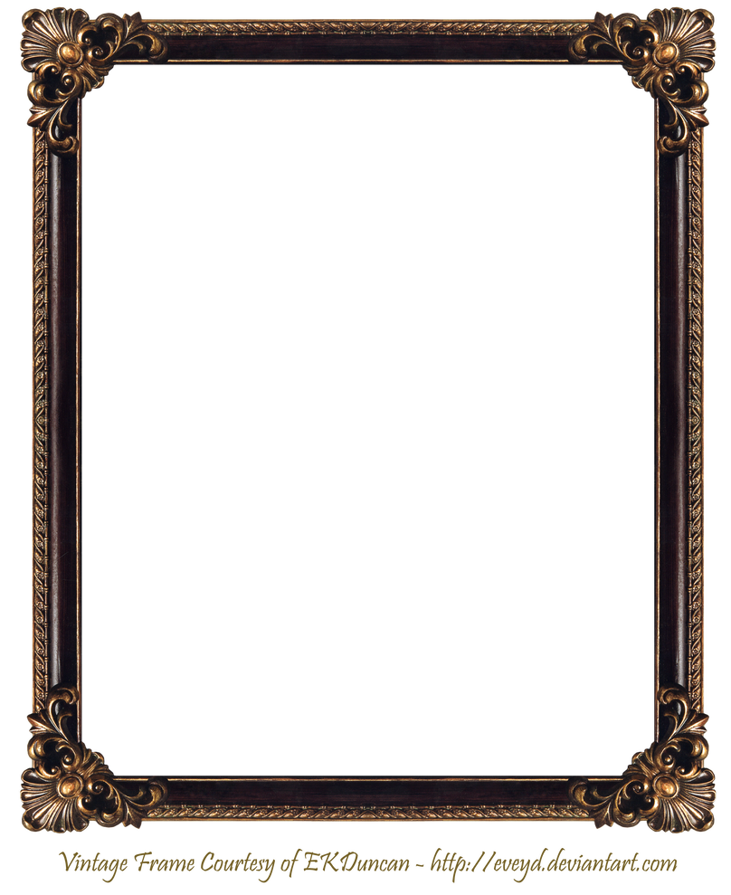 Elaborate Wood Frame 3 By Ekduncan By Eveyd Picture Frame Designs Mirror Frames Frame