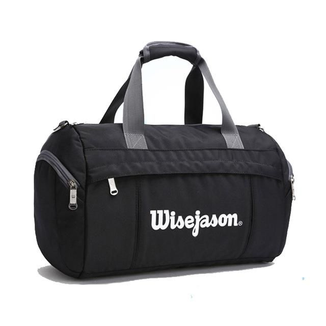 55fbf036b0 Waterproof Nylon Unisex Outdoor Sports Gym Bag Professional Men Women  Handbag Large Capacity Luggage Travel Duffle Yoga Bags