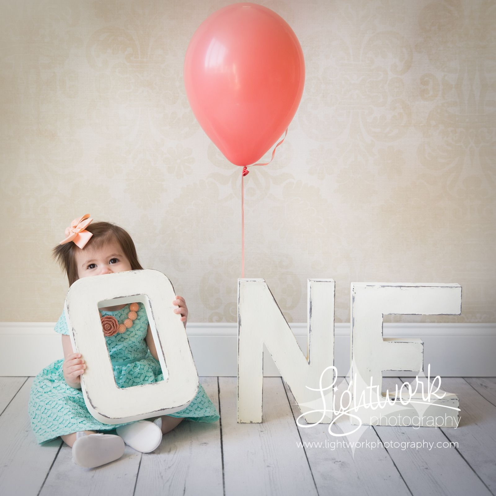 1st Birthday Photoshoot Props and Photos by Lightwork
