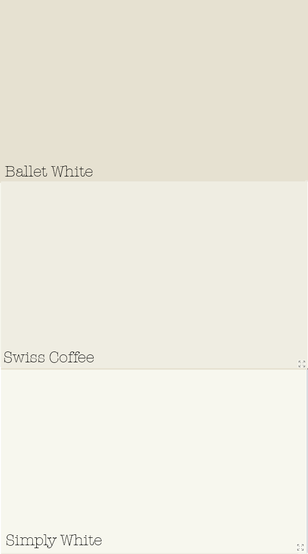 Ballet White Walls W Simply White Trim For Bedroom Home