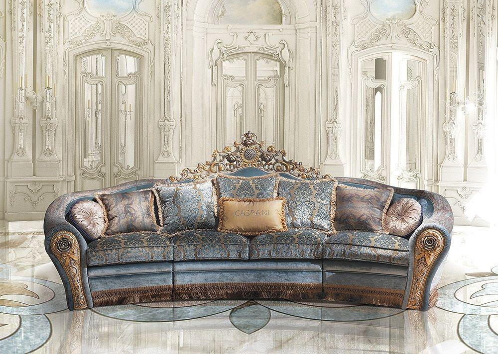Divano stile classico divano di lusso bijoux a 2763 3 for Mobili di lusso outlet