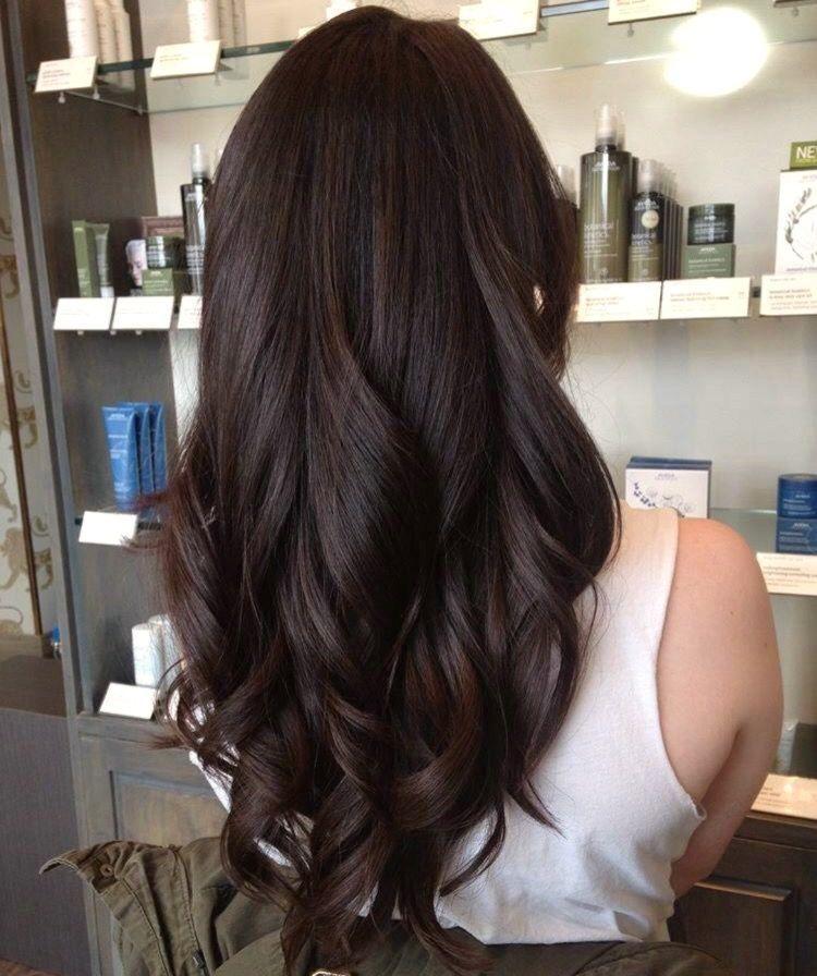 Chocolate Cherry Brown Brunette Hair Color Hair Styles Long Hair Styles