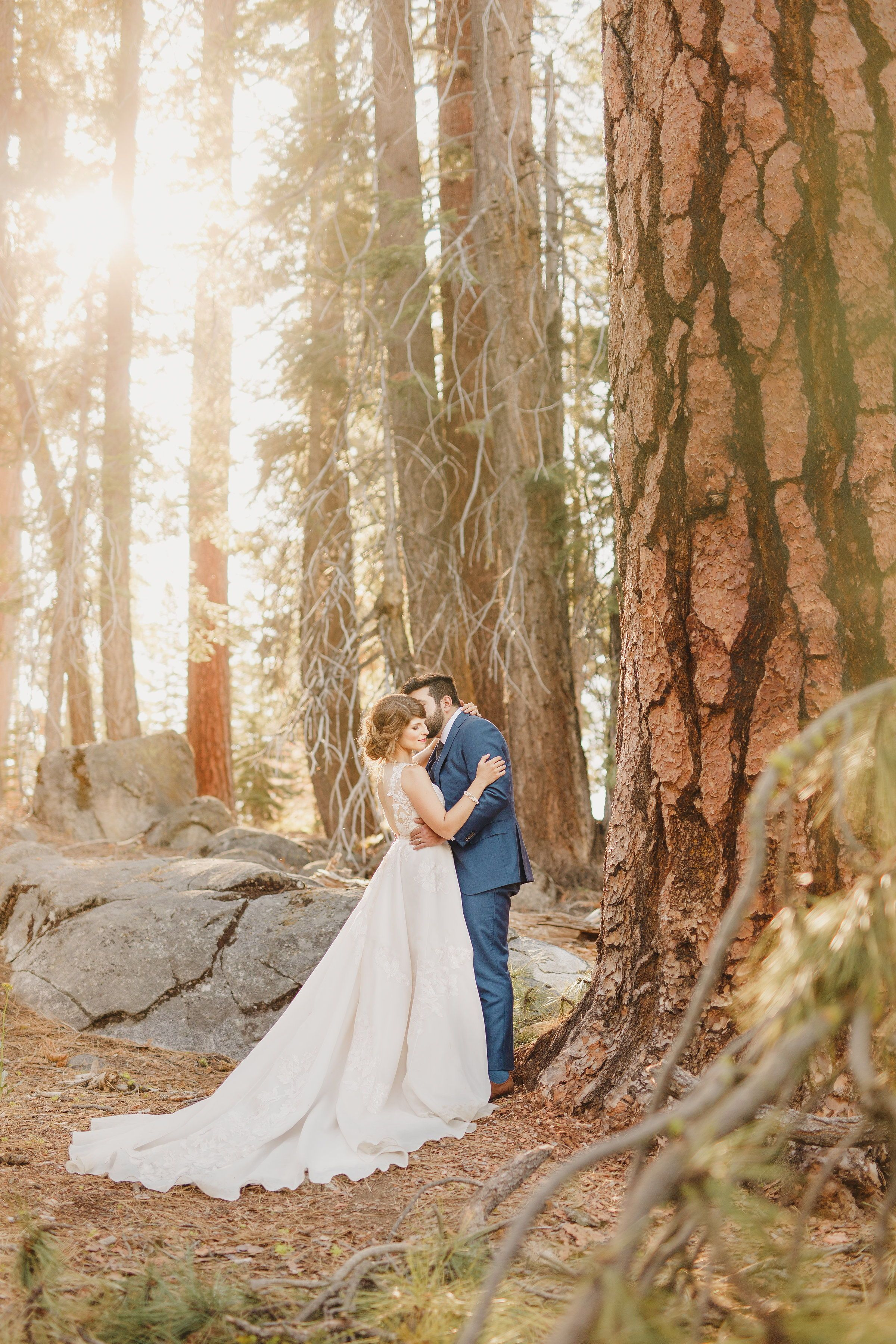 Forest wedding photos fairytale wedding in the woods in