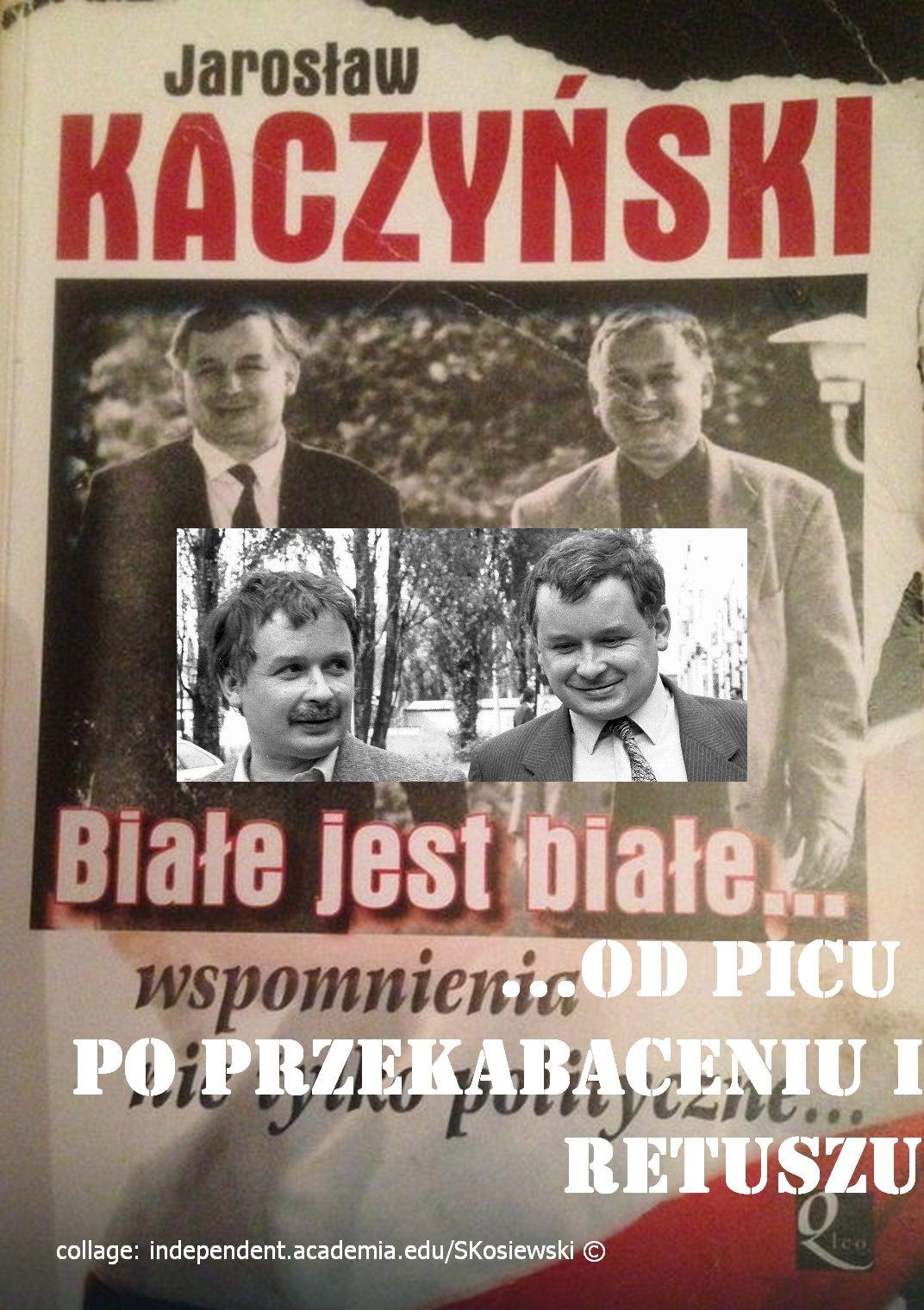 Kaczyńscy mieli dublerów Jarosław ujawnia na okładce w