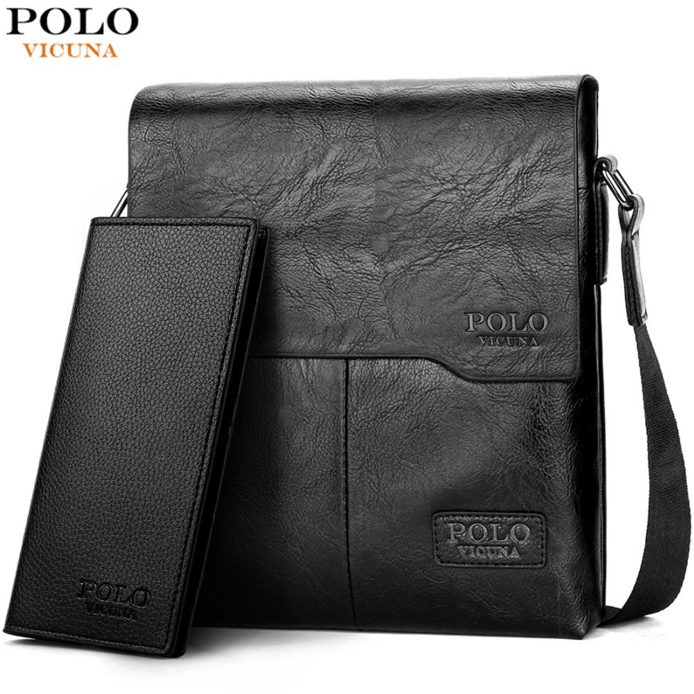 0b2e08689ca0 VICUNA POLO Men Shoulder Bag Classic Brand Men Bag Vintage Style Casual Men  Messenger Bags Promotion