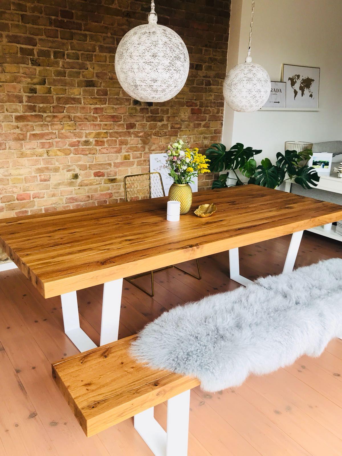 Esszimmer Einrichtung Tisch Esstisch massiv Holz auf Maß
