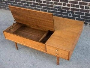 mid century coffee table, mcm coffee table, vintage table, drexel