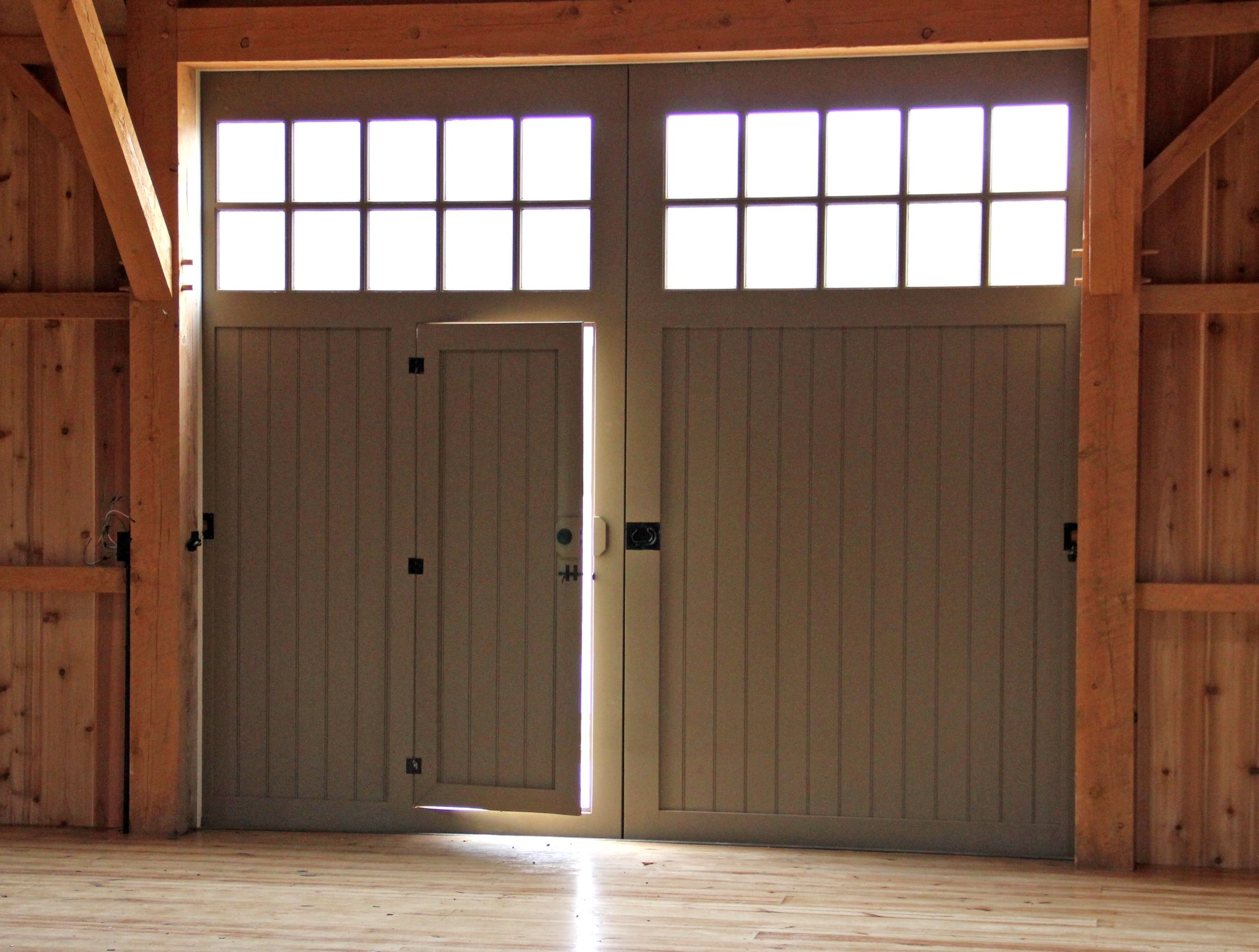 Bon Garage Entry Door With Screen