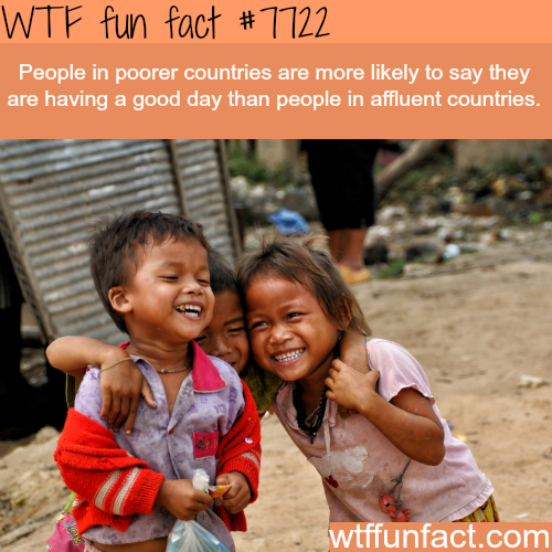 The difference between poor and rich countries - WTF fun facts