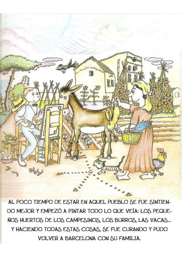 La Pequeña Historia De Joan Miro Joan Miró Para Niños Joan Miró Historia