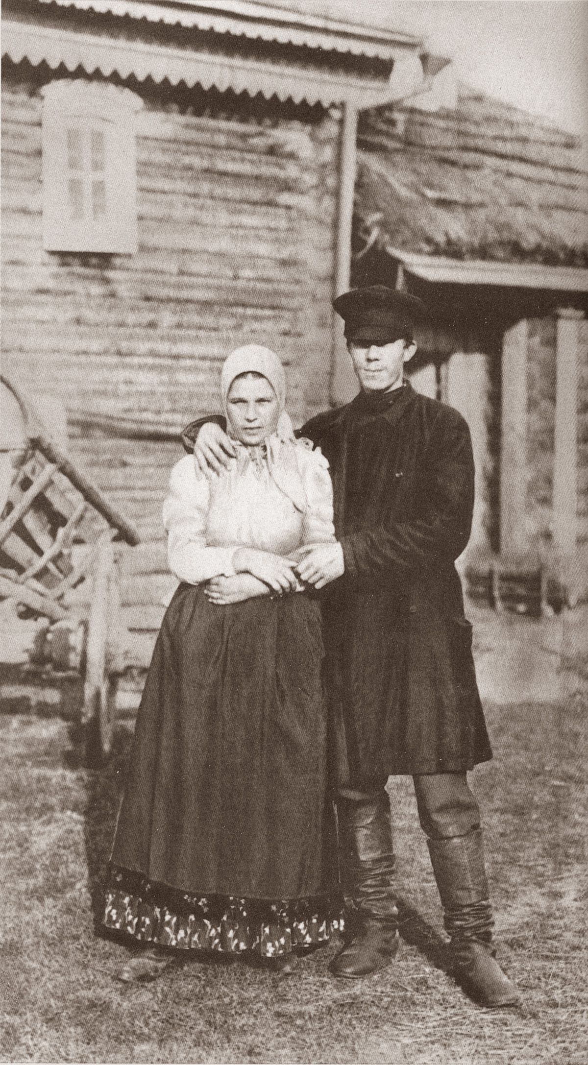 russian peasant married couple