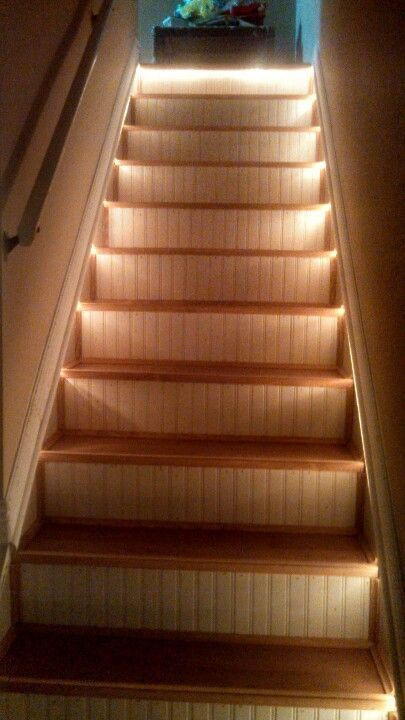 Lighting Basement Washroom Stairs: Pin On Dream Home