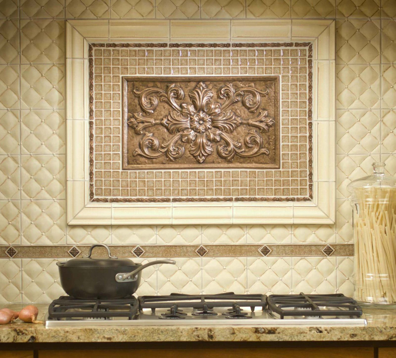 Kitchen Tiles Edmonton sonoma backsplash | custom blend of handcrafted tile from sonoma