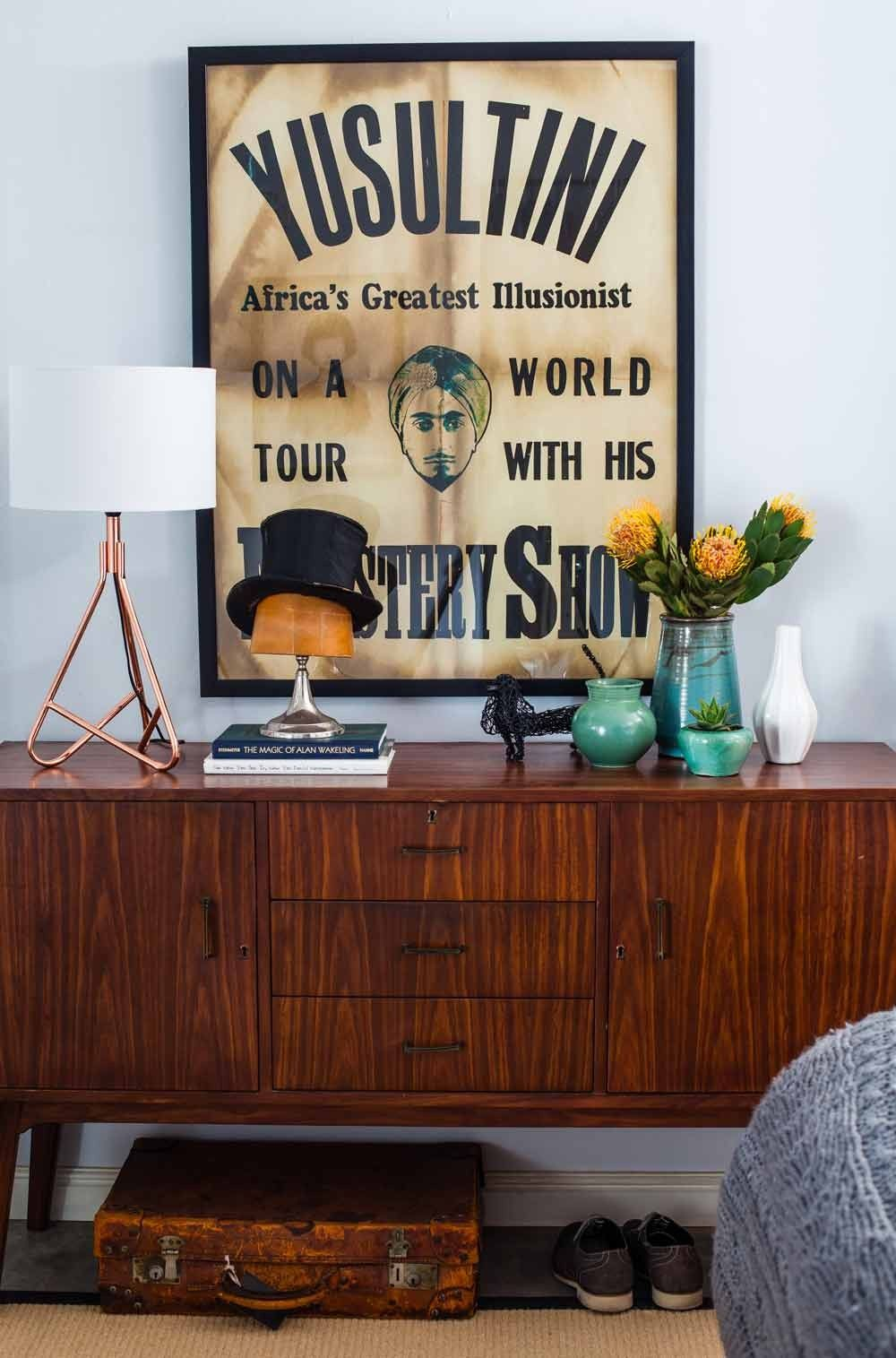 Doing It His Way In Cape Town South Africa Sideboard Designs