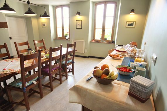 Pyrenees B&B accommodation - Le Couloume, stunning mountain views
