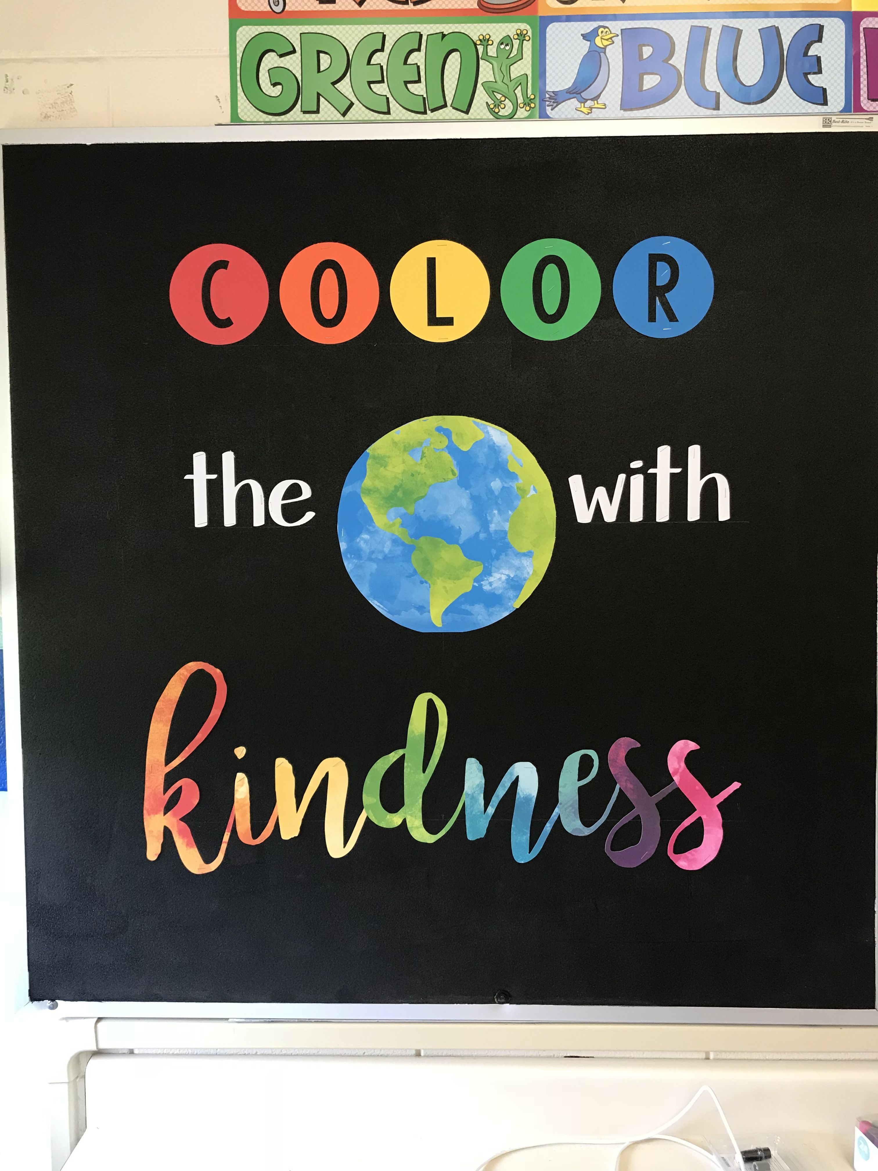 - Color The World With Kindness Bulletin Board (With Images