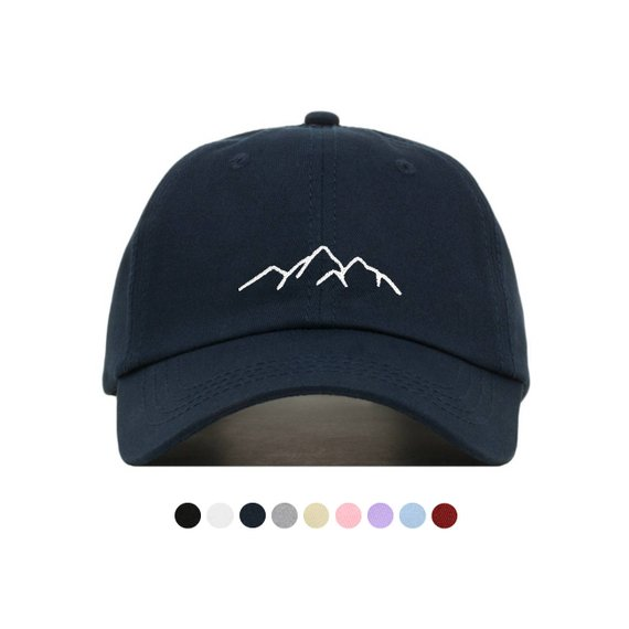 a2b35058f29 Mountain Baseball Hat - Embroidered Dad Cap    Unique Gift Ideas for Her  and Women