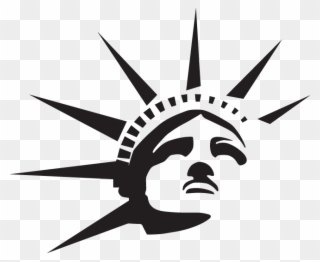 Clipart Statue Of Liberty Silhouette Drawing Silhouette Vector City Silhouette