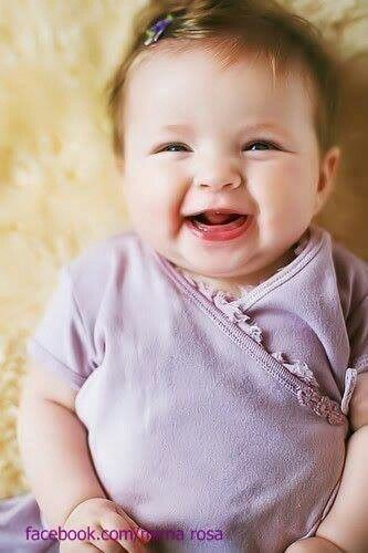 nothings better than a baby's laugh!