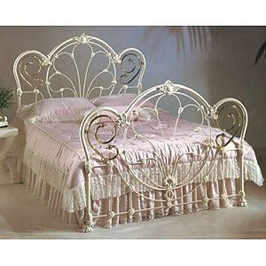 The Ultimate Iron Bed Corsican Furniture Company Www Corsican Com White Iron Beds White Metal Bed Wrought Iron Beds