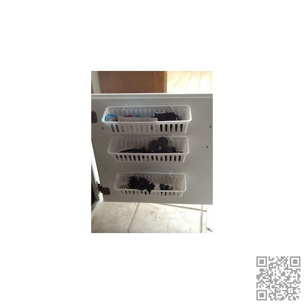 5. #Baskets in the Closet - 48 #Super Smart #Bathroom Organization Ideas ... → DIY #Organization