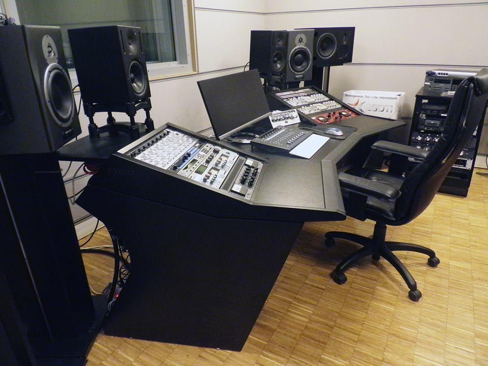 Modson Meuble Studio D Enregistrement Galleries Photos Music Studio Room Recording Studio Design Recording Studio Home