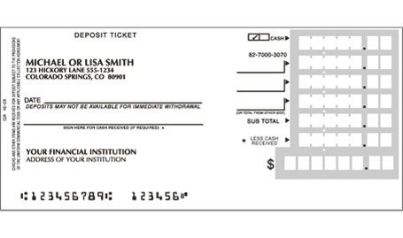 blank deposit slip - Google Search Notes to Self Pinterest