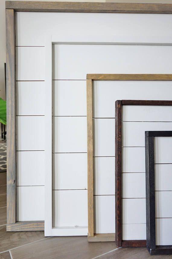 36x36 Shiplap Frame. Shiplap Decor. Fixer Upper Style. | Home Decor ...